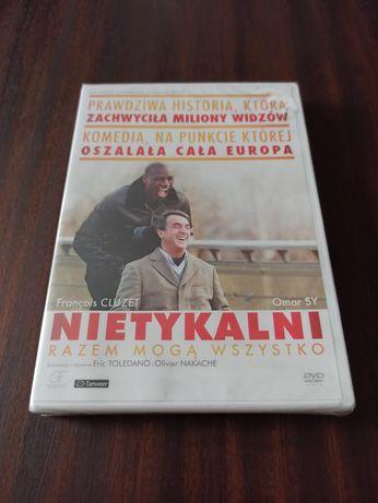 Nowy Folia Nietykalni Polski Lektor Film DVD Kino Omar Sy