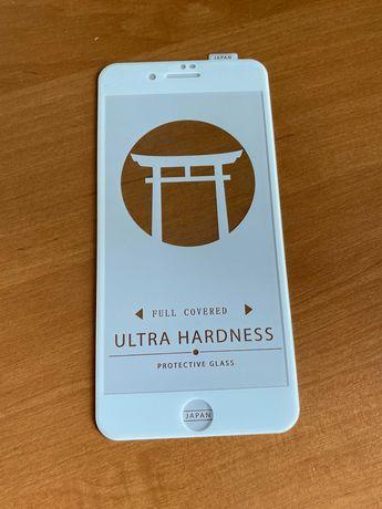 Защитное стекло на Iphone 8 plus