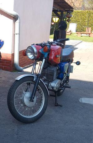 Motocykl  MZ 250 TS 1978r Sprawny z kompletem dokumentów