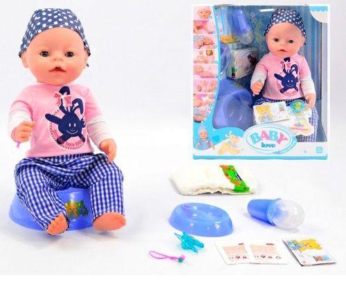 Пупс кукла Baby love