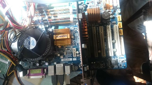 Материнская плата GA-P43-ES3G +Процессор Q6600 2.6GHz+8 Gb DDr2
