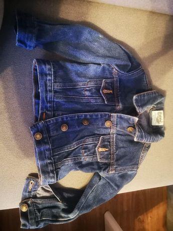 Kurtka jeansowa dziecięca 98cm