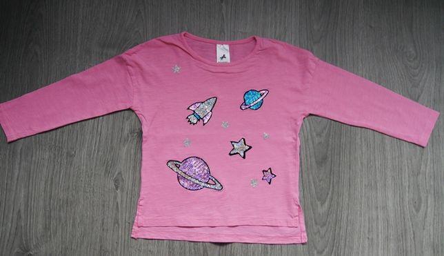 różowa bluzka kosmos c&a rozm 110