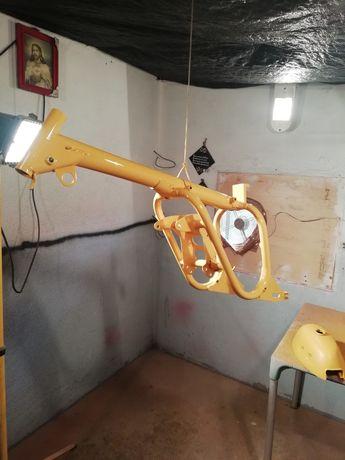 Restauro plástico moto e pintura geral desde 380.facepaimtbikemotors