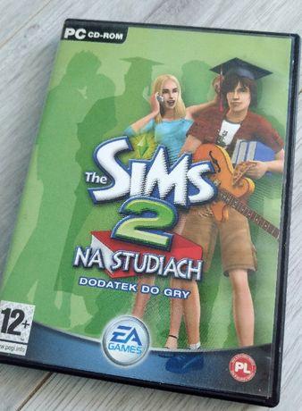 Gra PC Sims 2 dodatek Na Studiach Oryginalne