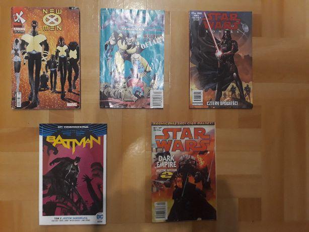 Komiksy [Star Wars, Marvel, Batman]