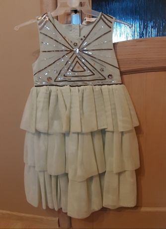 Sukienka tiulowa h&m