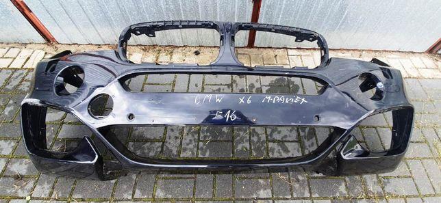 BMW X6 F16 M PAKIET zderzak przód