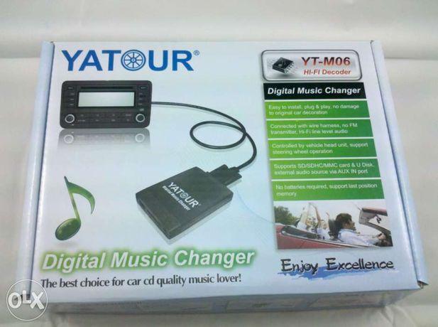 ЛУЧШАЯ ЦЕНА! YATOUR YT-M06/USB/SD/AUX/Официальный дилер/Гарантия
