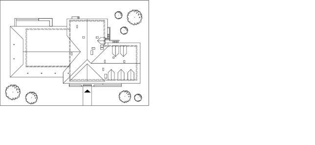 Album- Projekt budynku- rzut z góry Cykada 3 format dwg.