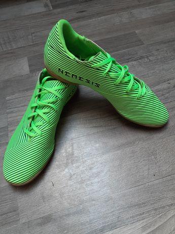 Buty halowe Adidas Nemsis neon