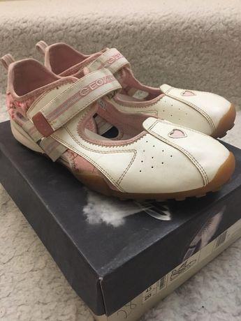 Кроссовки балетки туфли Geox оригинал с коробкой на девочку