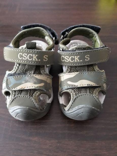 Sandałki chłopięce