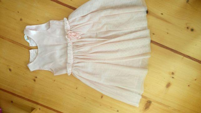 Śliczna sukienka HM 128 cm