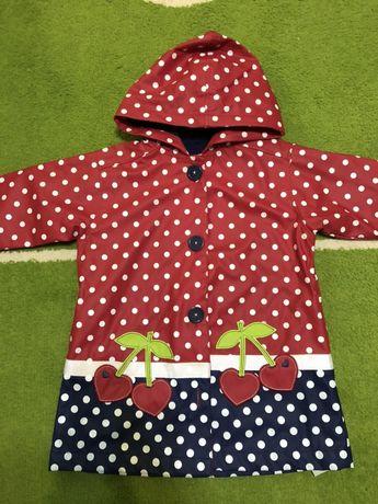 Куртка- плащ дождевик грязепруф на девочку 104-110–116 см