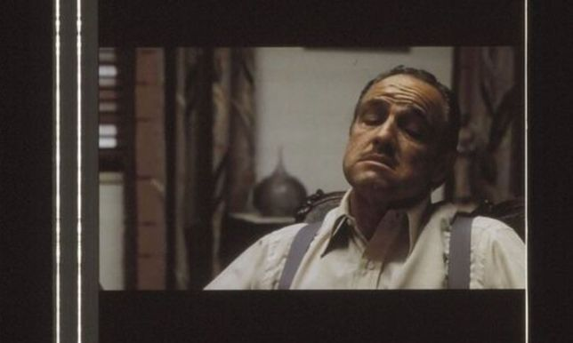 Fotogramas em película 35mm do filme culto THE GODFATHER ( O PADRINHO)
