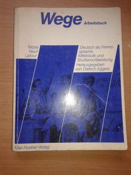 Ksiazka do nauki jezyka niemieckiego Wege Arbitsbuch
