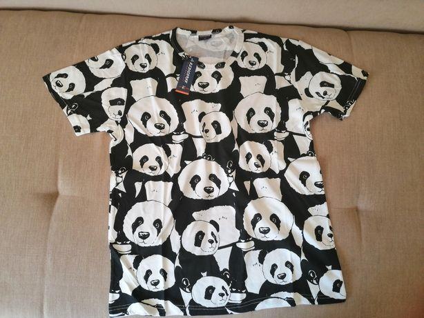 Nowa bluzka męska pandy L