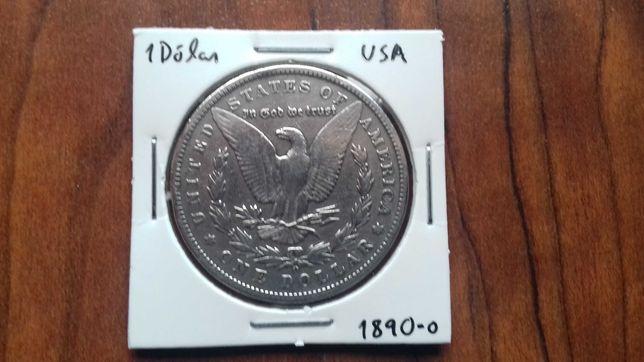 Moeda 1 Dólar USA 1890