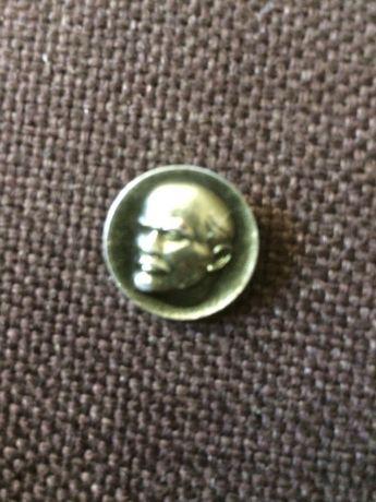 Wpinka Lenin do klapy z lat siedemdziesiątych