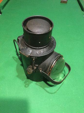 Lanterna antiga séc XIX 24cm alt.