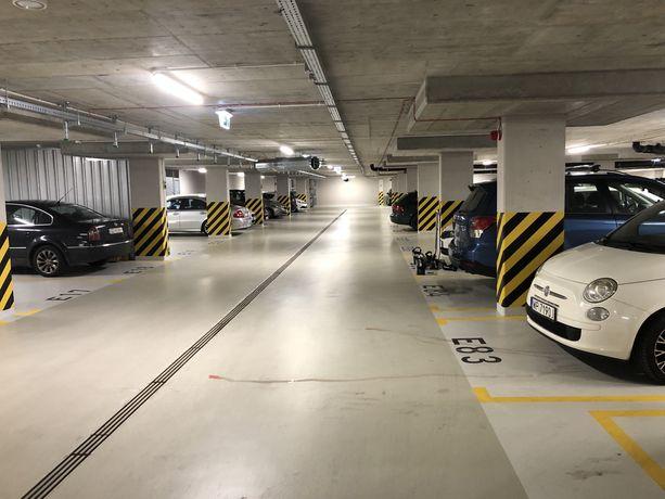 Miejsce parkingowe w hali  Gdansk Zajezdnia Wrzeszcz ul Grudziadzka 4