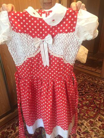 Платье на девочку, фабричный китай. Новое