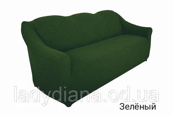 Чехол на диван без оборки Жаккард