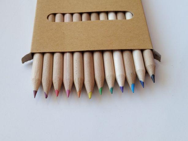 hiidea набор деревянных карандашей 12 шт цветные эко карандаши