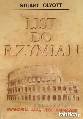 LIST DO RZYMIAN - Stuart Olyott