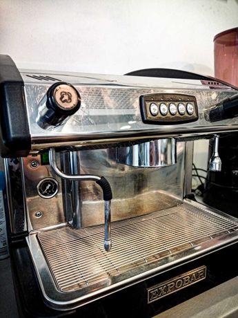 Ekspres do kawy EXPOBAR New Elegance + Młynek