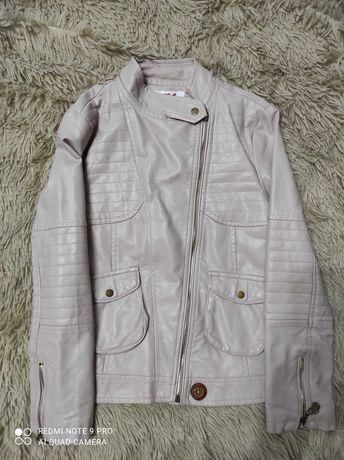 Куртка деми экокожа