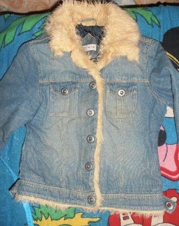 Джинсовка.джинсовая куртка кофта 36 размер