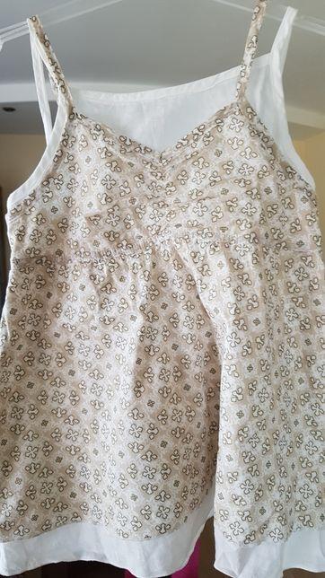 Bluzeczka białe