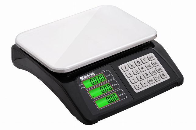 Waga sklepowa elektroniczna nierdzewna 40kg / 5g