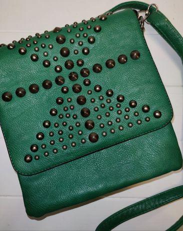 Сумка зелёного цвета