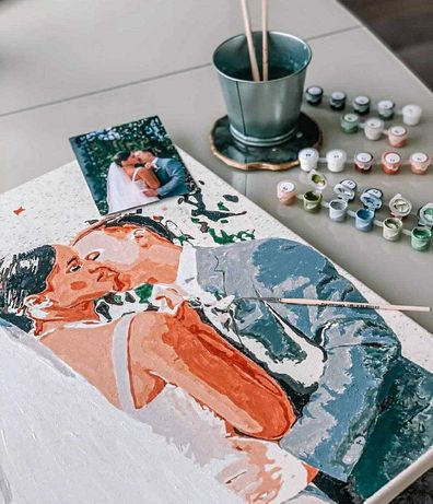Картины / раскраски по номерам из любой фотографии под заказ