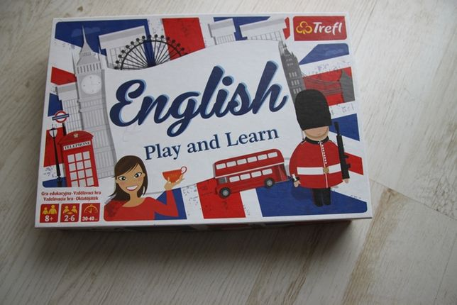 english play and learn gra planszowa
