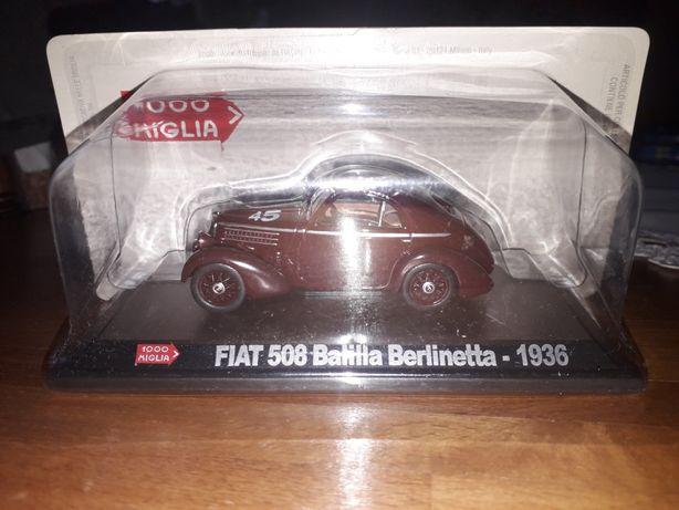 Fiat 508 Balilla Berlinetta-1936 Altaya 1:43