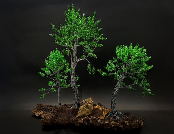 Fábio da Silva - Árvores de Arame - Wire Tree #Os 3 Pinheiros