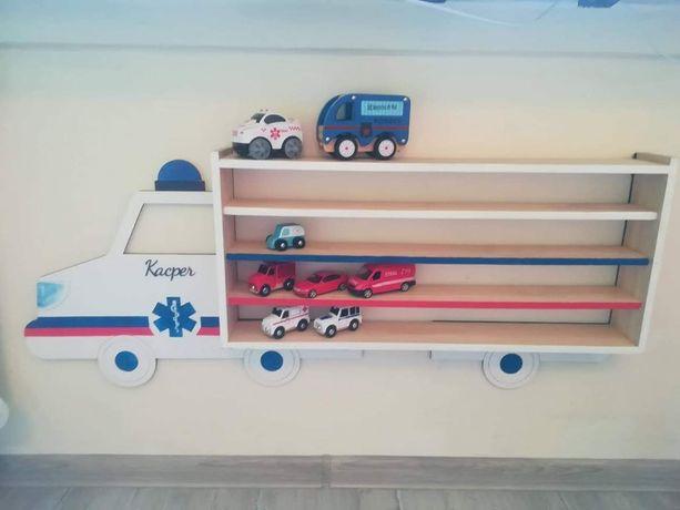 półka na resoraki karetka pogotowia ambulans