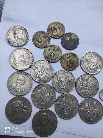 Monety bez znaku mennicy