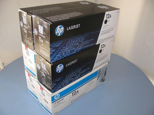 Продам картридж HP 12A оригинальный, новый в заводской упаковке