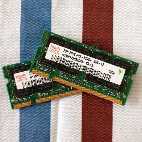 4GB RAM (2x2) para Portátil