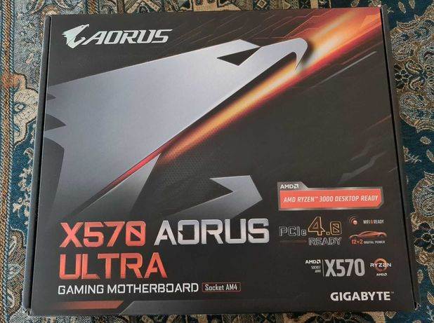 Płyta główna Gigabyte X570 Aorus Ultra AM4 4DDR4 USB 3.1 okazja