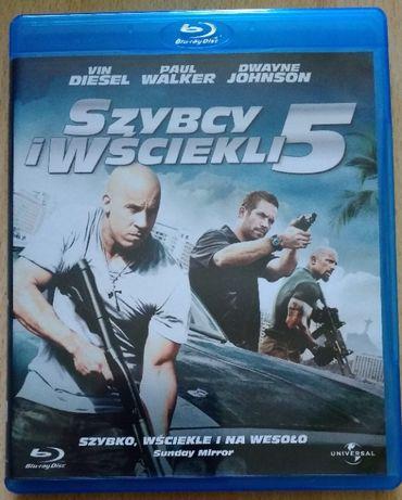Szybcy i Wściekli 5 [Blu-ray]