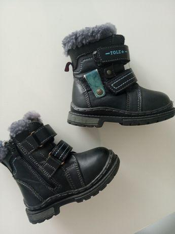 Зимові чобітки на хлопчика 23 розмір