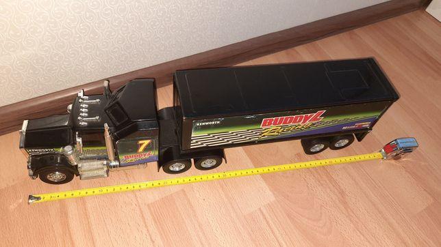 Машинка модель грузовик тягач kenworth