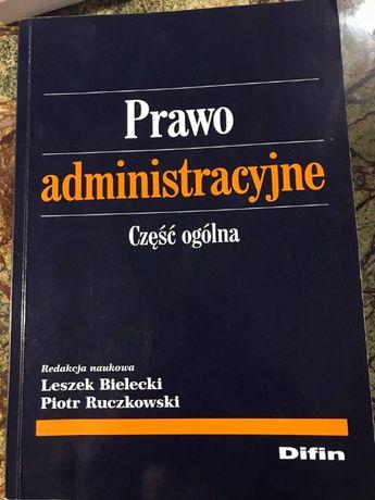 Prawo administracyjne - część ogólna