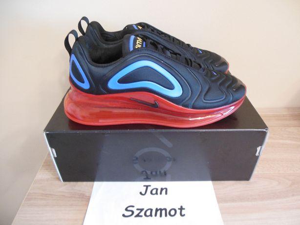 42 Nike Air Max 720 Black / Red / Blue